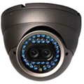 night vision IR security camera with dual CCD